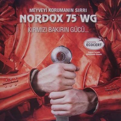 NORDOX 75 WG Organik Tarıma Uygunluk Sertifikası Yenilendi
